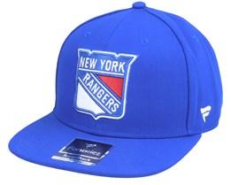 New York Rangers Primary Logo Core Royal Snapback - Fanatics