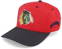 Chicago Blackhawks Base Two Tone NHL Vintage Snapback - Twins Enterprise