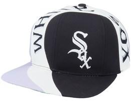 Chicago White Sox Vortex MLB Vintage Black/Grey Snapback - Twins Enterprise