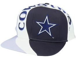 Dallas Cowboys Vortex NFL Vintage Black/Grey Snapback - Twins Enterprise