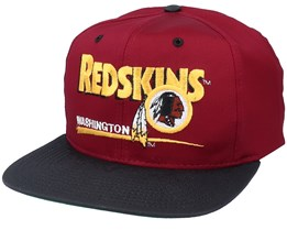Washington Football Team Washington Redskins Classic NFL Vintage Red/Black Snapback - Twins Enterprise