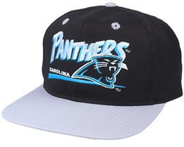 Carolina Panthers Classic NFL Vintage Black/Grey Snapback - Twins Enterprise