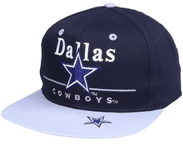Dallas Cowboys Dallas Cowboys  Classic Nfl Vintage Navy/Grey Snapback - Twins Enterprise