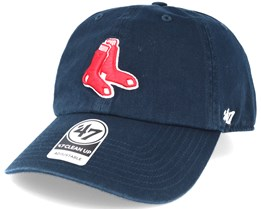 Boston Red Sox 2 Tone Clean Up Navy Adjustable - 47 Brand c3047f201