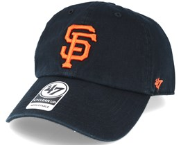 3f474692a9111 San Francisco Giants 47 Clean Up Black Adjustable - 47 Brand
