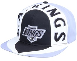 Los Angeles Kings Allover2 Nhl Vintage Black/Grey Snapback - Twins Enterprise