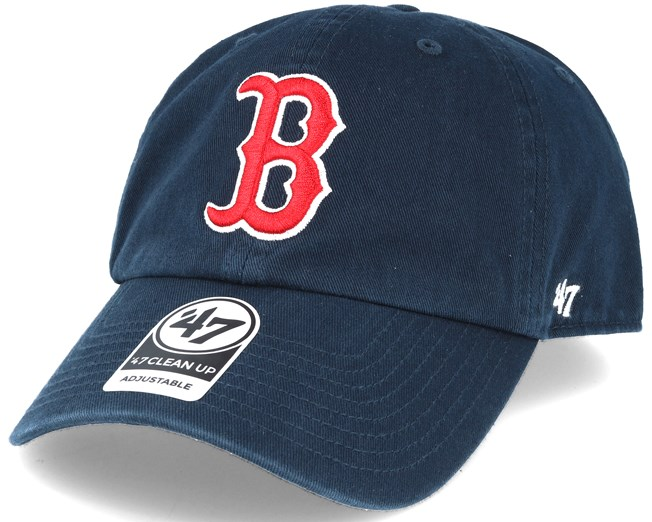 huge selection of a4470 c2579 Boston Red Sox 47 Clean Up Navy Adjustable - 47 Brand caps ...
