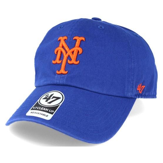 online store 747ea ea870 New York Mets `47 Clean Up Royal Blue Adjustable - 47 Brand caps    Hatstore.co.uk
