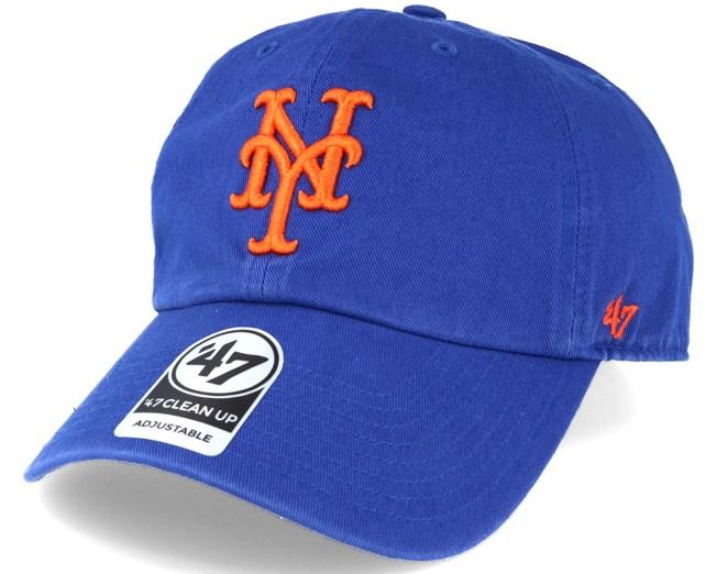 online store da8d7 e63d4 New York Mets `47 Clean Up Royal Blue Adjustable - 47 Brand