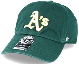 Oakland Athletics Mlb ´47 Clean up Dark Green Adjustable - 47 Brand