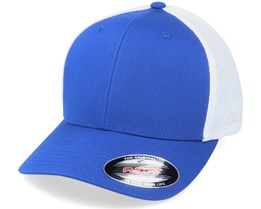 Trucker Mesh 2-Tone Royal/White Flexfit - Flexfit