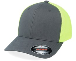 Trucker Mesh Charcoal/Neon Yellow Flexfit - Flexfit