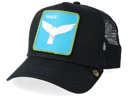 Peace Keeper Black/Black Trucker - Goorin Bros.