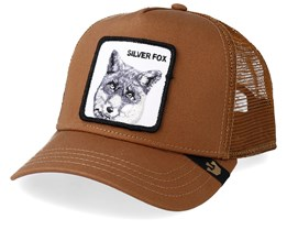 Silver Fox Brown/Brown Trucker - Goorin Bros.
