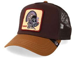 Wild Turkey Dark Brown/Brown Trucker - Goorin Bros.