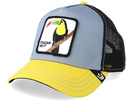 Toucan Iggy Narnar Grey/Yellow/Black Trucker - Goorin Bros