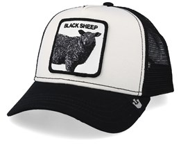 Revolter White/Black Trucker - Goorin Bros.
