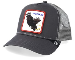 Democracy Dark Grey/Grey Trucker - Goorin Bros.