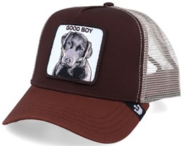 Good Boy Sweet Chocolate/Beige Trucker - Goorin Bros.