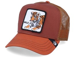 Wild Kitty Brown/Orange Trucker - Goorin Bros.