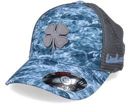 Splash Water Camo/Grey Mesh Flexfit - Black Clover