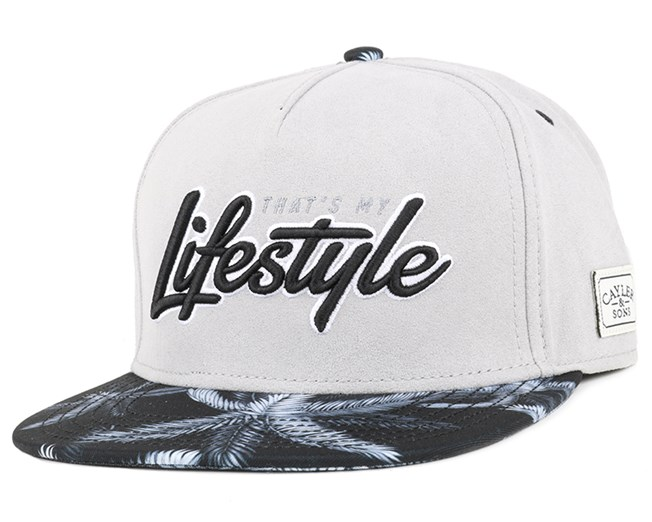 Lifestyle Grey Black Snapback - Cayler   Sons caps - Hatstore.no ecea21820c5
