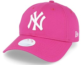 NY Yankees Womens Pink/White 9Forty - New Era