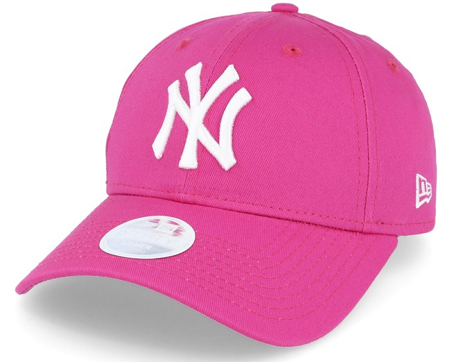 NY Yankees Womens Pink White 940 - New Era lippis - Hatstore.fi 6976e83570