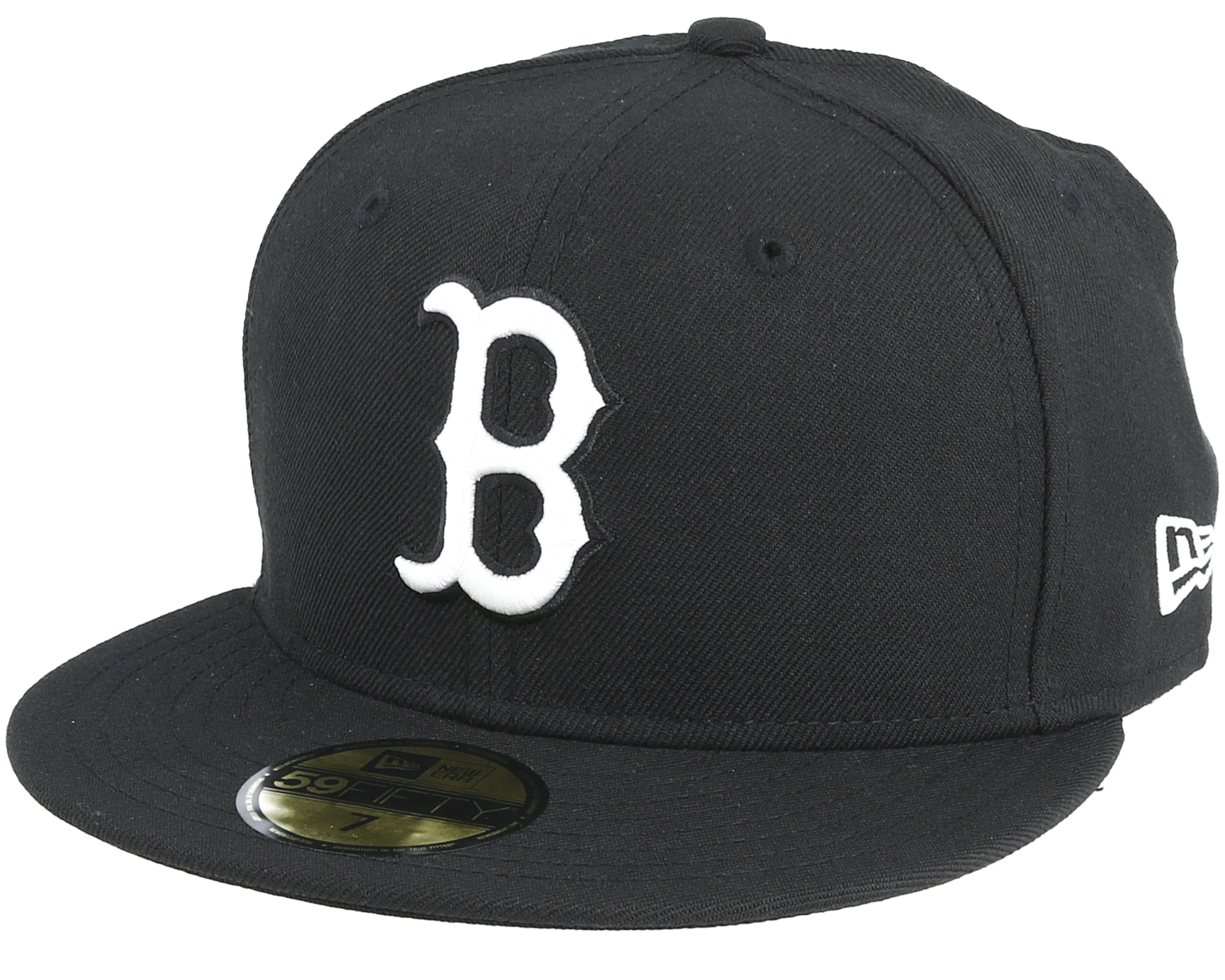 Boston Red Sox Mlb Basic Black White 59fifty New Era