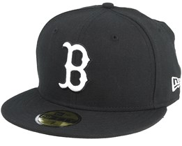 Boston Red Sox MLB Basic Black/White 59Fifty - New Era