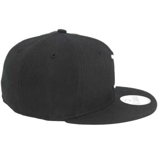 brand new 5d8d3 f1660 Boston Red Sox MLB Basic Black White 59Fifty - New Era caps -  Hatstoreworld.com