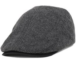 Hartsville Black Flat Cap - Dickies