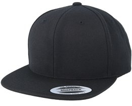wholesale dealer eea79 86c84 Black Black Snapback - Yupoong