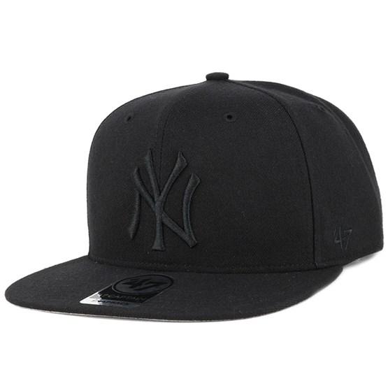 Keps NY Yankees Sure Shot 47 Captain Black Snapback - 47 Brand - Svart Snapback