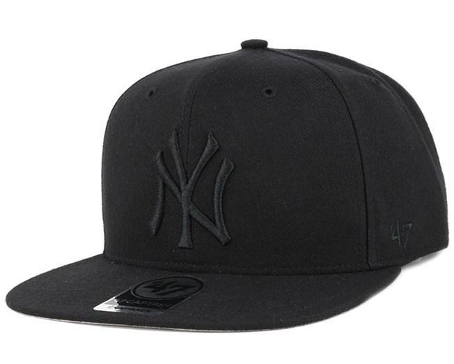 a3d8448ba265f NY Yankees Sure Shot 47 Captain Black Snapback - 47 Brand caps ...