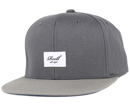Pitchout Dark Grey/Light Grey Snapback - Reell
