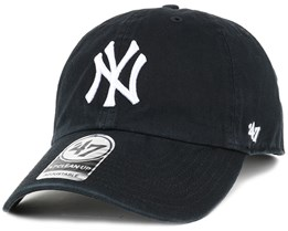 17044902a70 NY Yankees Clean Up Black Adjustable - 47 Brand
