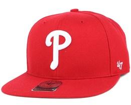 Philadelphia Phillies Sure Shot Royal/White Snapback - 47 Brand