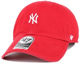 NY Yankees Centerfield Clean Up Red Adjustable - 47 Brand