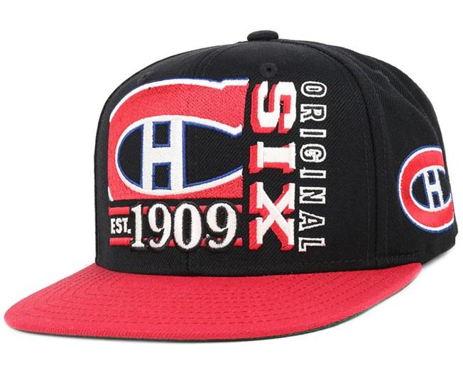 size 40 39907 94949 Montreal Canadiens Org 6 Snapback - Reebok caps ...