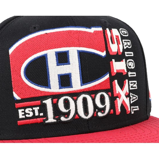 innovative design 7806f 0400d Montreal Canadiens Org 6 Snapback - Reebok caps   Hatstore.co.uk