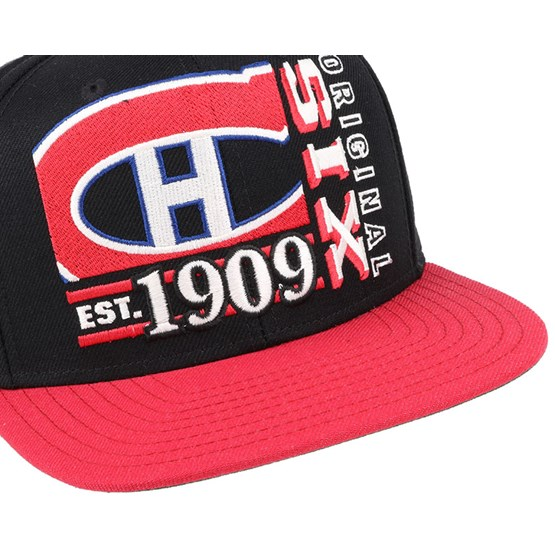 outlet store eb996 6ec45 Montreal Canadiens Org 6 Snapback - Reebok caps - Hatstoreworld.com