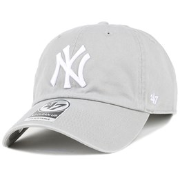 9c2a80378ef3a 47 Brand NY Yankees Clean Up Grey Adjustable - 47 Brand CA  31.99