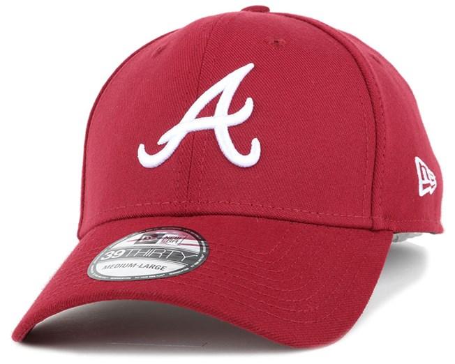 Atlanta Braves League Essential Cardinal 39Thirty Flexfit - New Era ... 29225af18abd
