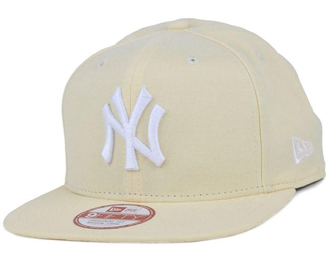0d631876588df NY Yankees Oxford Lights Yellow 9Fifty Snapback - New Era cap ...