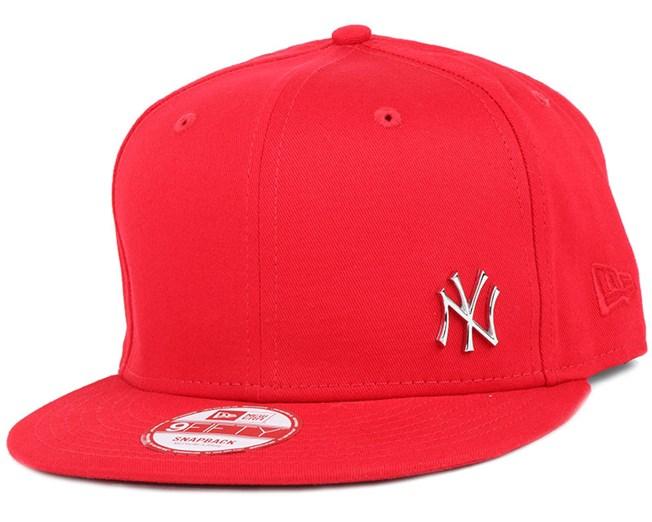 39464d87 NY Yankees MLB Flawless Metal Scarlet 9Fifty Snapback - New Era cap ...