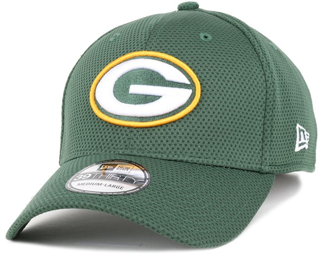 NEW Era 39 THIRTY Cap-NFL BLACK Sideline Green Bay Packers