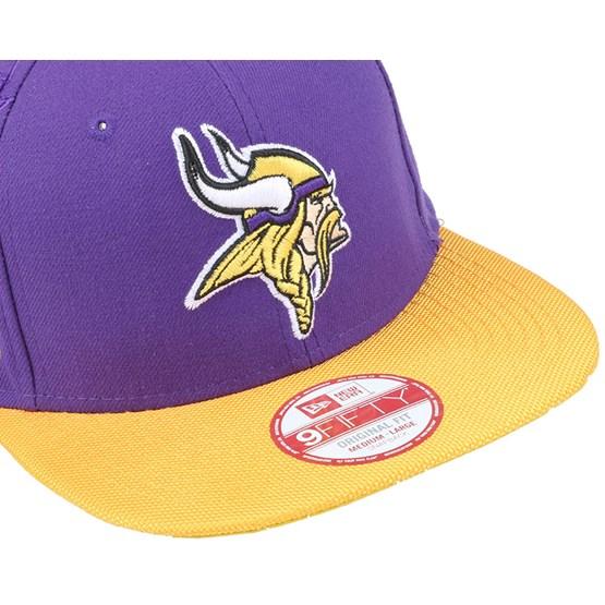 3180b76d308 Minnesota Vikings NFL Sideline 9Fifty Snapback - New Era - Start Boné -  Hatstore