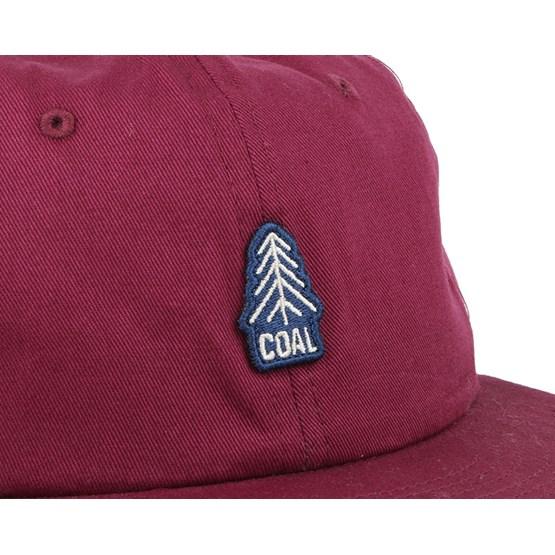 46ca7fff1a189e The Junior Burgundy Snapback - Coal caps - Hatstoreworld.com