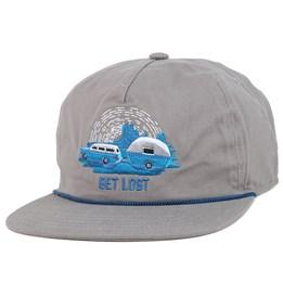 d928fe86d9e The Great Outdoors Grey Strapback - Coal caps - Hatstoreworld.com